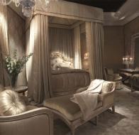 Итальянская мебель для спальни Provasi кровать Coco Milano