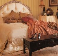 Итальянская мебель для спальни Provasi кровать Come Foto