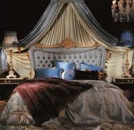 Итальянская мебель для спальни Provasi кровать Conchiglia