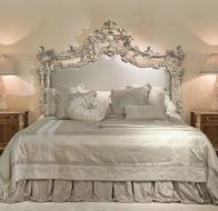 Итальянская мебель для спальни Provasi кровать Princess Milano