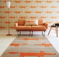 Английский бренд Scion ковер Mr Fox