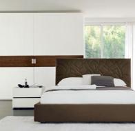 Итальянская мебель SMA Mobili современная спальня Domino Plus кровать Loto