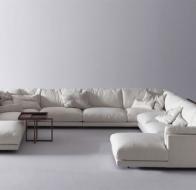 Итальянская мягкая мебель SWAN ITALIA модульный диван HOST