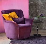 Итальянская мягкая мебель SWAN ITALIA коллекция PALOMBA кресло FLORA