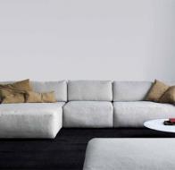 Итальянская мягкая мебель SWAN ITALIA коллекция PALOMBA  угловой диван BOXER