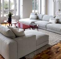 Итальянская мягкая мебель SWAN ITALIA коллекция PALOMBA  диван HILLS