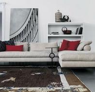 Итальянская мягкая мебель SWAN ITALIA коллекция PALOMBA  диван MOLVEDO
