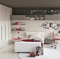 Итальянская мебель Tomasella современная коллекция для детских и подростковых комнат Tommy Youang