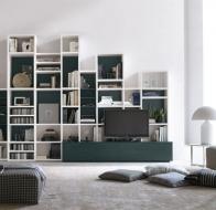 Итальянская мебель Tomasella современная гостиная Atlante
