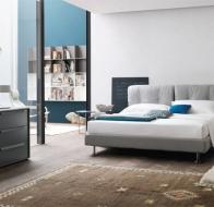 Итальянская мебель Tomasella современная спальня кровать Milano