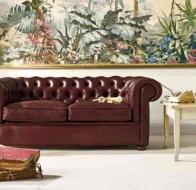 Итальянская мебель  Tonin Casa классический диван Fox