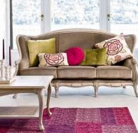 Итальянская мебель  Tonin Casa классический диван Giunone