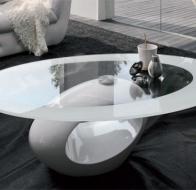 Итальянская мебель  Tonin Casa современная гостиная журнальный столик Dubai