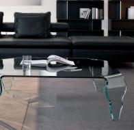 Итальянская мебель  Tonin Casa современная гостиная журнальный столик Lower