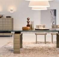 Итальянская мебель  Tonin Casa современные столы и стулья Louvre