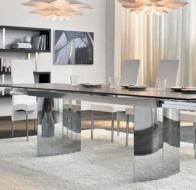 Итальянская мебель  Tonin Casa современные столы и стулья Manhattan