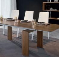 Итальянская мебель  Tonin Casa современные столы и стулья Queens