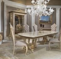 Итальянская столовая TURRI классическая коллекция Baroque