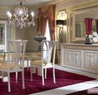 Итальянская столовая TURRI классическая коллекция EXEDRA GOLD COLLECTION