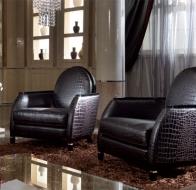 Итальянская мебель TURRI современная коллекция кресло ALTHEA