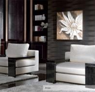Итальянская мебель TURRI современная коллекция кресло BRIDGE