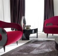 Итальянская мебель TURRI современная коллекция кресло MILLER