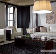 Итальянская мягкая мебель TURRI современная коллекция диван MILANO