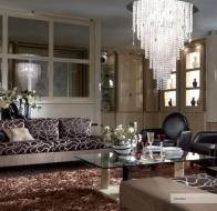 Итальянская мягкая мебель TURRI современная коллекция диван STRATHOS