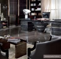Итальянская мебель TURRI современная коллекция кабинет OUVERTURE LEATHER COLLECTION