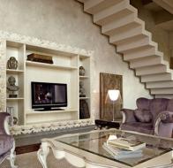 Итальянская мягкая мебель VOLPI кресло Angelica