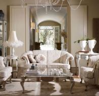 Итальянская мягкая мебель VOLPI диван и кресло Romeo