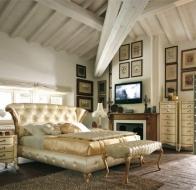 Итальянская мебель VOLPI спальня Capri