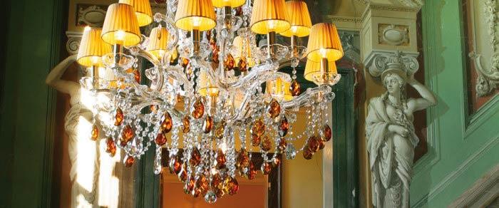 Итальянские люстры и светильники Masiero