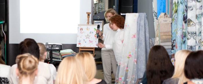 24 мая 2017 года в шоу-руме Decoration Club в Киеве состоялась презентация экспортным менеджером новых коллекций испанских тканей Rioma