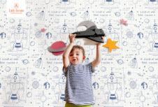 Детская линия дизайнерских обоев Day Dreamers от бренда ARCHITECTOR